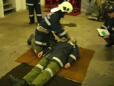 Erste Hilfe - Atem- und Bewusstseinskontrolle