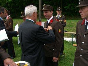 LM Josef Stella ausgezeichnet mit dem Ehrenzeichen der NÖ Landesreg. für 25 Jahre verdienstvolle Tätigkeit