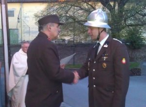 Ernennung zu Stellvertreter d. LDV Hermann Friedrich