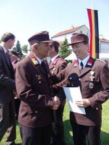 Verdienstzeichen des NÖ LFV 3.Klasse: HLM Martin STELLA